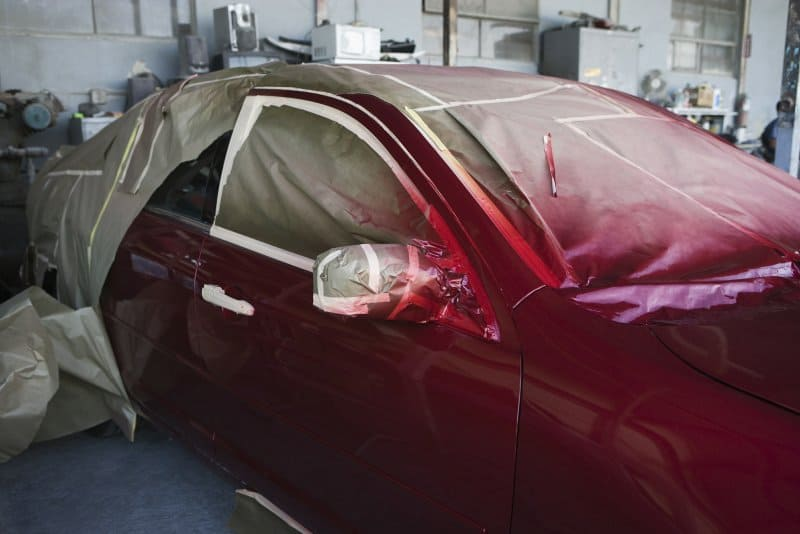 charlotte collision repair service before after gallery