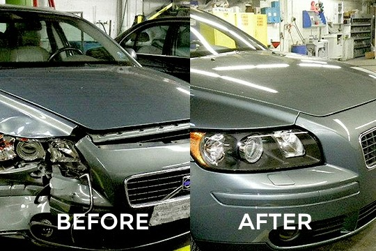 Charlotte Collision Repair Service - Before & After Gallery