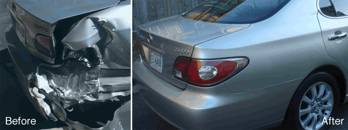 Take a look at some of our Charlotte Collision Repair before and after ...